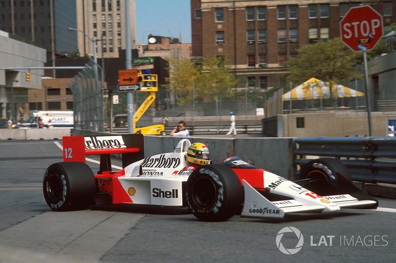 Detroit - Ayrton Senna - 3 triunfos