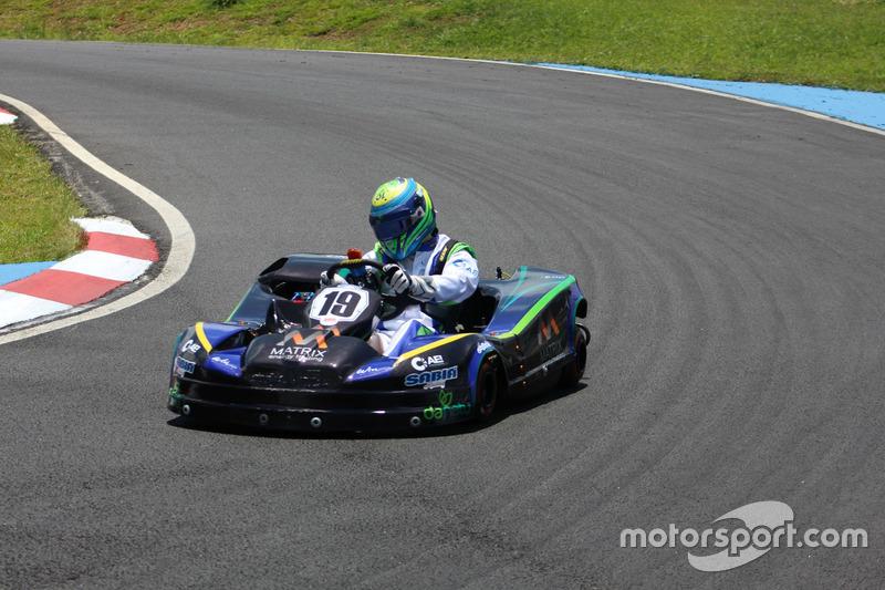 Felipe Massa en las 500 millas de Kart 2017