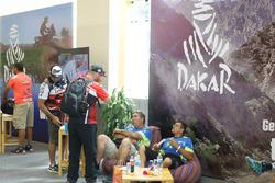 Les vérifications administratives avant le Dakar 2018