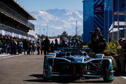 Panasonic Jaguar Racing en el pitman