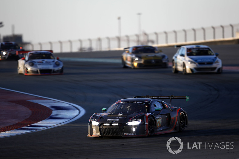 #777 MS7 by WRT Audi R8 LMS: Mohammed Bin Saud Al Saud, Michael Vergers, Dries Vanthoor, Christopher Mies