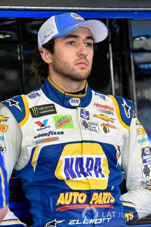 Chase Elliott, Hendrick Motorsports, Chevrolet Camaro NAPA AUTO PARTS Patriotic