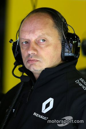 Frédéric Vasseur, Directeur Sportif Renault Sport F1 Team
