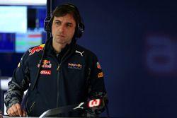 Pierre Wache, ingeniero jefe de ingeniería de Performance, Red Bull Racing