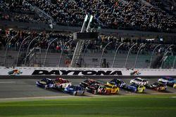 Départ : Chase Elliott, Hendrick Motorsports Chevrolet mène
