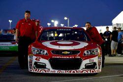 Das Fahrzeug von Kyle Larson, Chip Ganassi Racing Chevrolet