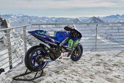 The 2016 Yamaha YZR-M1 of Jorge Lorenzo, Yamaha Factory Racing