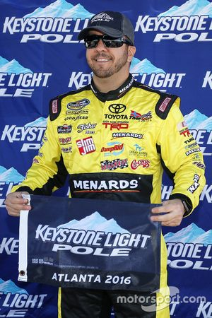 Ganador de la pole Matt Crafton, ThorSport Racing Toyota