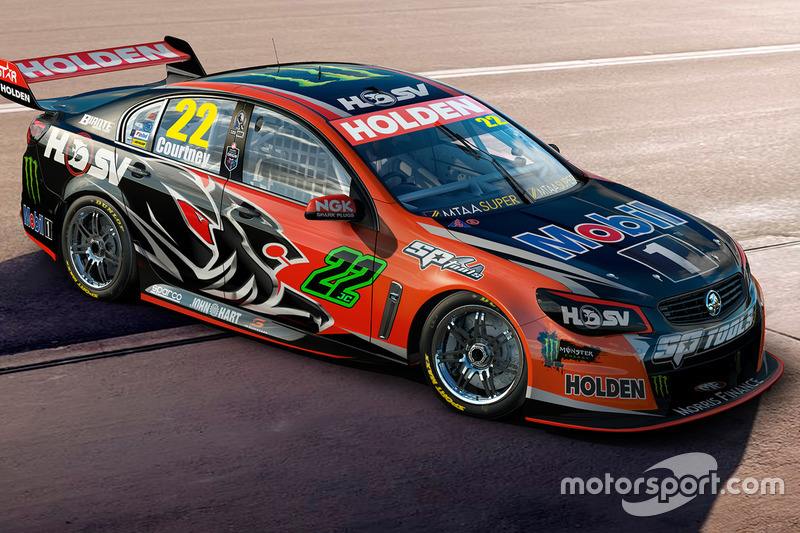 #22 James Courtney (HRT-Holden)