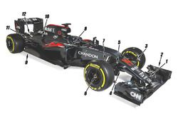 Деталь машины McLaren MP4-31
