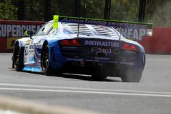 #82 International Motorsport Audi R8 LMS Ultra: Andrew Bagnall, Rick Armstrong, Matt Halliday in tro