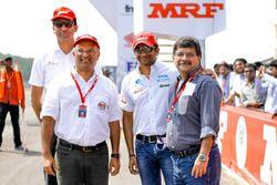 Anand Jayachandran, Arun Mammen et Narain Karthikeyan