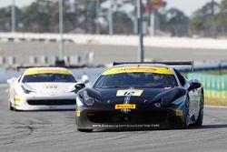 #12 Ferrari de Central Florida Ferrari 458: Charles Quinton