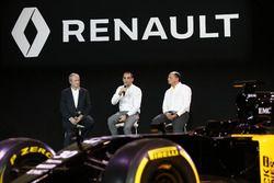 Jerome Stoll, Renault Sport F1 president met Cyril Abiteboul, Renault Sport F1 managing director en