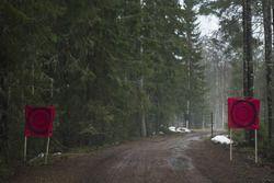 Une partie des routes du rallye