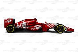 Imagen del concepto de Alfa Romeo