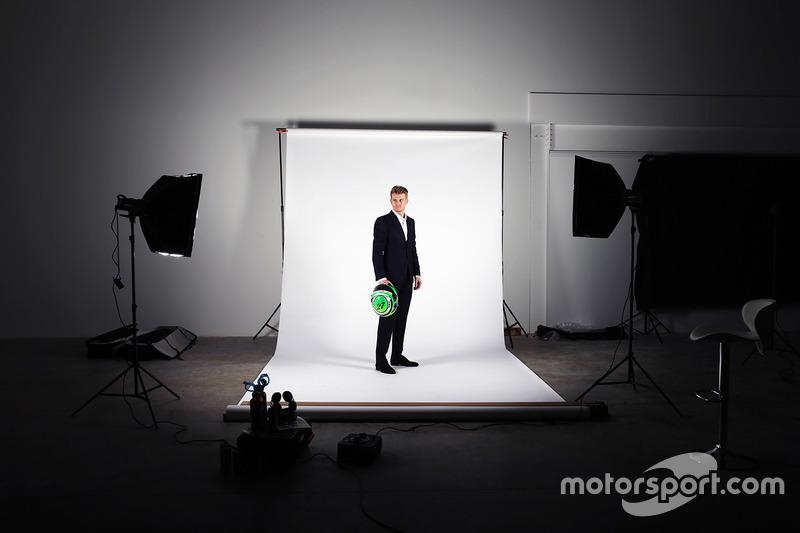 Nico Hulkenberg, Sahara Force India F1 - Apsley, Sahara Force India F1 Team Studio Shoot