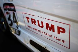 Ein Donald Werbeschild