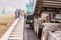 Trabajo de repavimentación en el Hungaroring