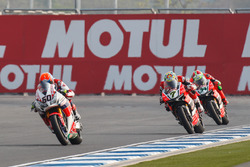 Michael van der Mark, Honda WSBK Team, Chaz Davies, Aruba.it Racing - Ducati Team et Davide Giuglian