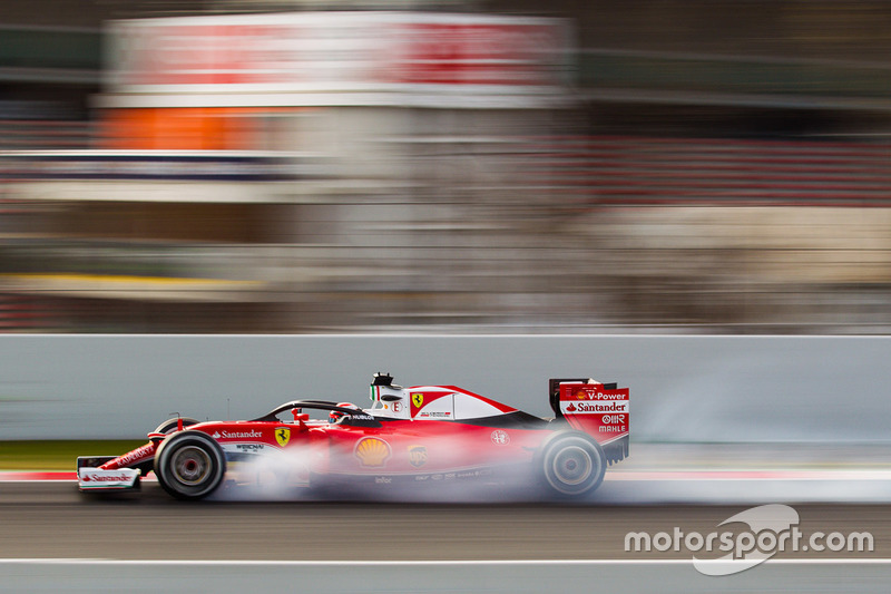 Kimi Räikkönen, Ferrari SF16-H, mit Halo