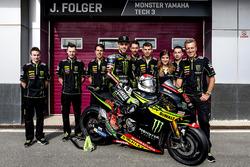 Jonas Folger, Monster Yamaha Tech 3 avec l'équipe