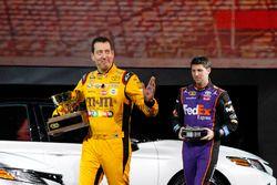 Toyota Racing NASCAR drivers Kyle Busch and Denny Hamlin