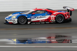 #66 Chip Ganassi Racing, Ford GT: Dirk Müller, Joey Hand, Sébastien Bourdais