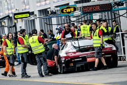 #1 Hofor-Racing Mercedes AMG GT3: Michael Kroll, Chantal Kroll, Roland Eggimann, Kenneth Heyer, Chri