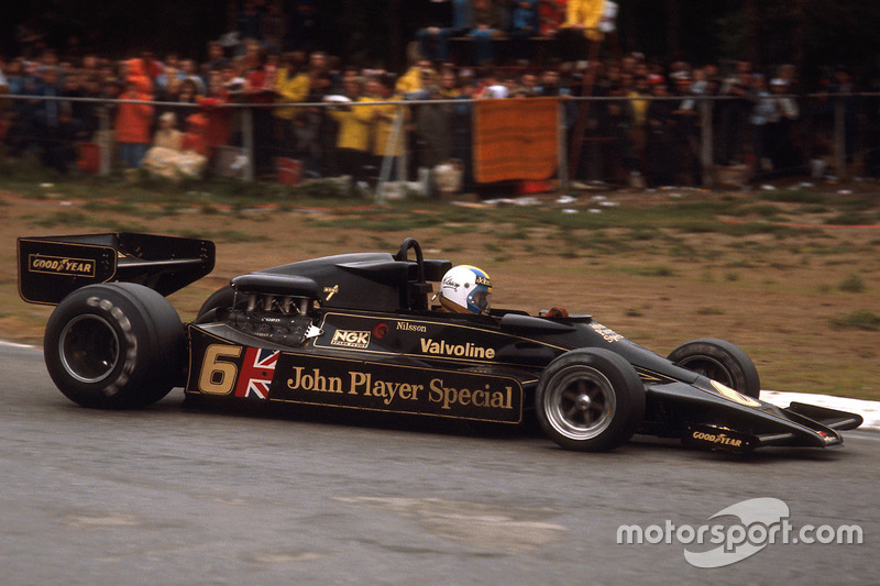 1977 Gunnar Nilsson, Lotus