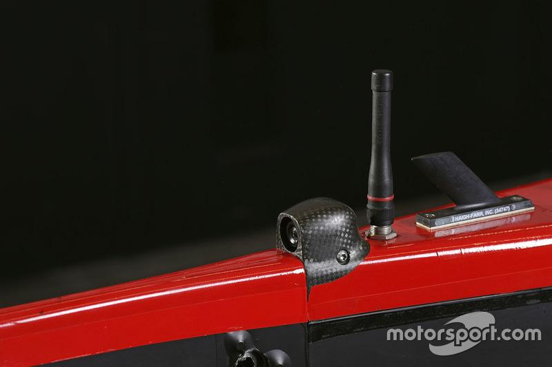 La caméra de la #8 Audi Sport Team Joest Audi R18