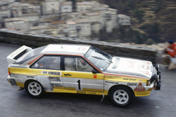 Walter Rohrl, Christian Geistdorfer, Audi Quattro A2
