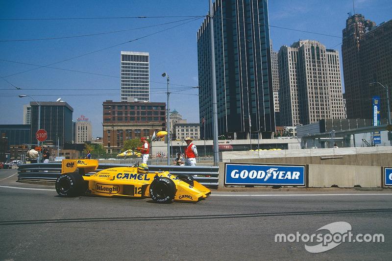 1987: Ayrton Senna (Lotus Honda 99T)