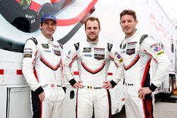 Рихард Лиц, Лоренс Вантхор, Кевин Эстре, Porsche Team North America Porsche