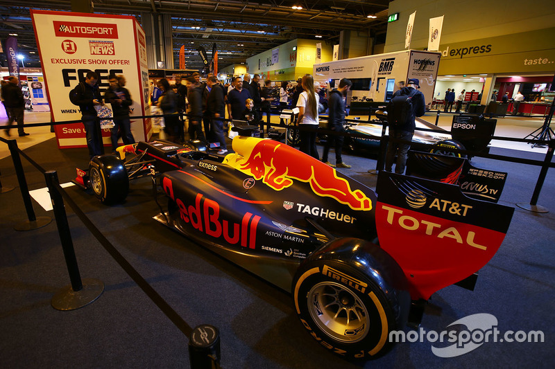 Exhibición de F1 Racing