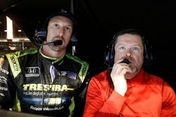 Charlie Kimball, Chip Ganassi Racing Honda en engineer