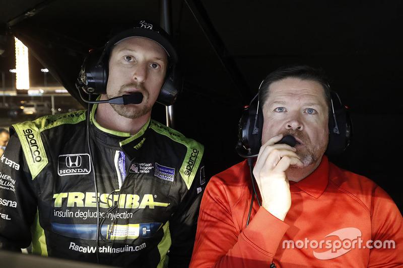 Charlie Kimball, Chip Ganassi Racing Honda e ingeniero