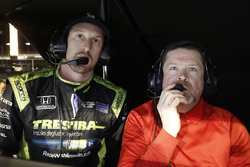 Charlie Kimball, Chip Ganassi Racing Honda et son ingénieur