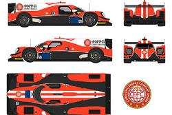 Manor Motorsport CEFC China livery
