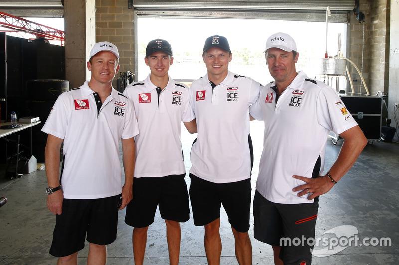 Patrick Long, Matt Campbell, Marc Lieb, David Calvert-Jones, Competition Motorsports