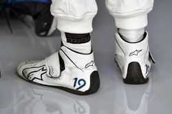 The Alpinestars boots of Felipe Massa, Williams