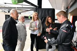Paul Stoddart, Tony Jardine, journalist Kevin Eason, Rachel Brooks, Sky TV, Natalie Pinkham, Sky TV