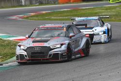 #333 Car Collection Motorsport, Audi RS3 LMS TCR: Monika Parhofer, Dirk Vorländer, Siegfried Kuzdas, Christian Schmitz