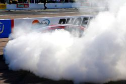 Ryan Newman, Richard Childress Racing Chevrolet celebrates his win with a burnout
