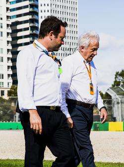 Charlie Whiting, directeur de course FIA