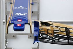 Sauber Front wing detail