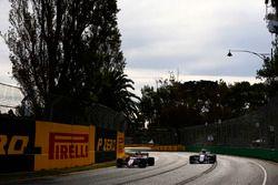 Sergio Pérez, Force India VJM10, Pascal Wehrlein, Sauber C36