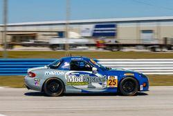 #25 Freedom Autosport Mazda MX-5: Chad McCumbee, Stevan McAlee