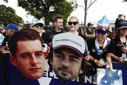 Des fans de McLaren-Honda