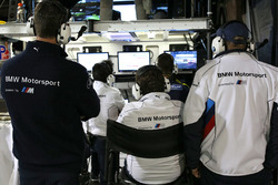BMW Team RLL garage atmosphere